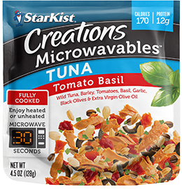 NEW Creations Microwavables Latin Citrus Tuna