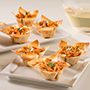 Red Curry Wonton Cups