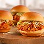 Korean Style Tuna BBQ Sliders with Coleslaw