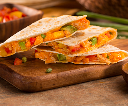 Buffalo Chicken Quesadila