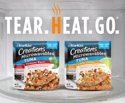 Pouches StarKist Creations Microwavables®