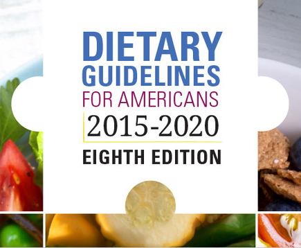 Dietary Guidelines 2015 - 2020