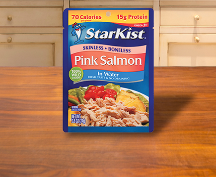 NEW Wild Pink Salmon (Pouch)