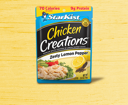 Chicken Creations<sup>™</sup> Zesty Lemon Pepper