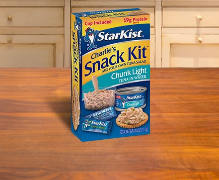 Charlie's Snack Kit™ Chunk Light Tuna in Water