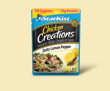 Chicken Creations<sup>®</sup> Zesty Lemon Pepper