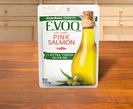 StarKist Selects E.V.O.O.® Wild-Caught Pink Salmon