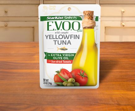 StarKist Selects E.V.O.O.® Yellowfin Tuna with Sun-dried Tomato