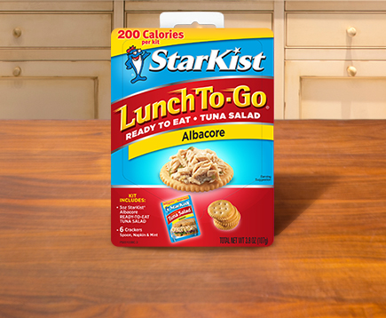 Lunch To-Go® Ready-to-Eat Tuna Salad Albacore