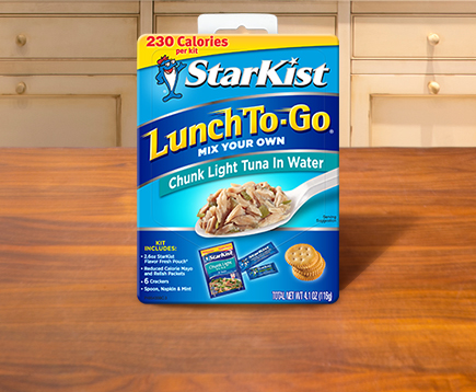 Lunch To-Go® Chunk Light Mix Your Own Tuna Salad