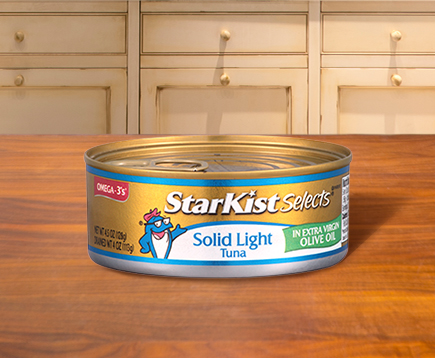 Solid Light Tuna in Extra Virgin Olive Oil