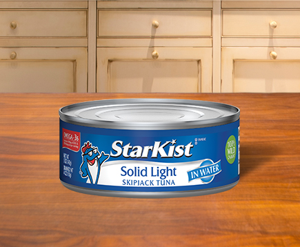 NEW Solid Light Skipjack Tuna in Water