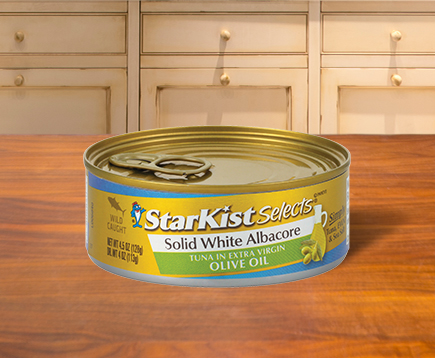 NEW Solid White Albacore Tuna in Extra Virgin Olive Oil