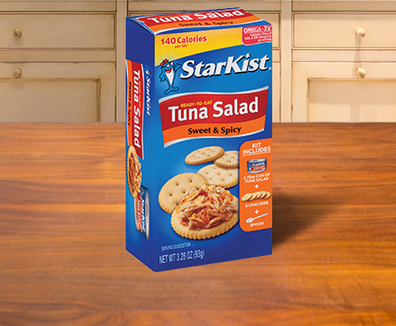 Ready-to-Eat Tuna Salad Kit, Sweet & Spicy