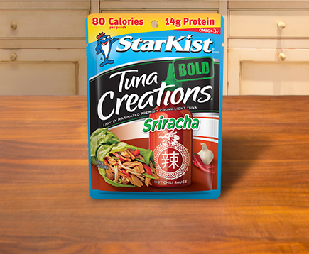 NEW Tuna Creations® BOLD Sriracha