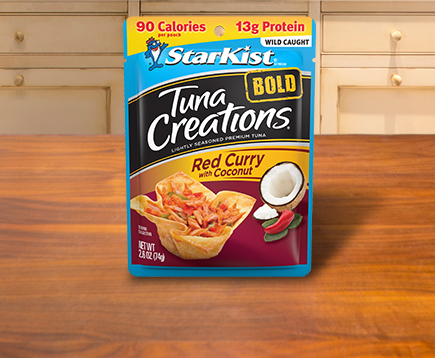 NEW Tuna Creations® BOLD Red Curry with Coconut