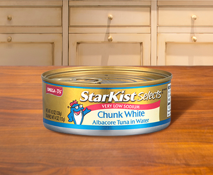 Very Low Sodium Chunk White Albacore Tuna in Water