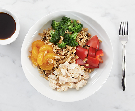 Chicken and Broccoli Teriyaki Grain Bowl