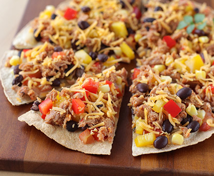 Hungry Girl's Chilled Sweet & Spicy Southwest Pizza Snack