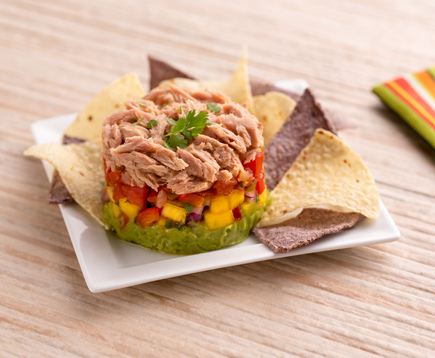 Avocado Tuna Stack