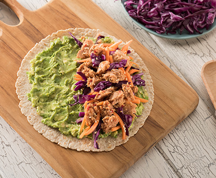 Candace Cameron Bure's Sweet and Spicy Tuna and Avocado Wrap