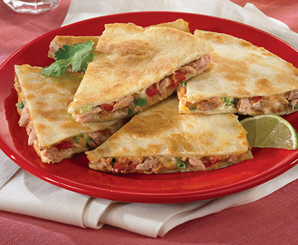 Hickory Smoked Tuna Quesadilla