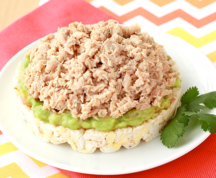 Hungry Girl's Avocado Ranch Tuna Snack