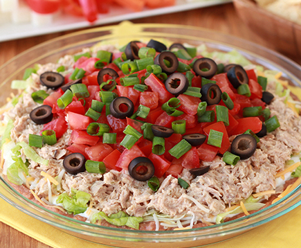 Hungry Girl's Ate-Layer Tuna Dip