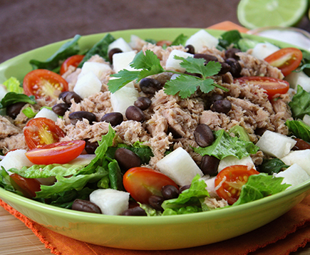 Hungry Girl's Tex-Mex Tuna Chopped Salad