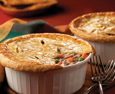 Individual Tuna Pot Pies