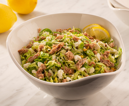 Candace Cameron Bure's Lemon Tuna Brussels Sprout Salad