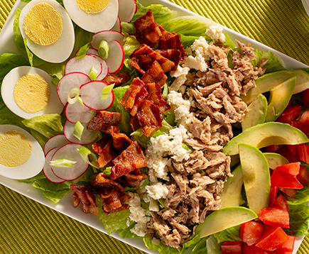 Lemon Pepper Tuna Cobb Salad