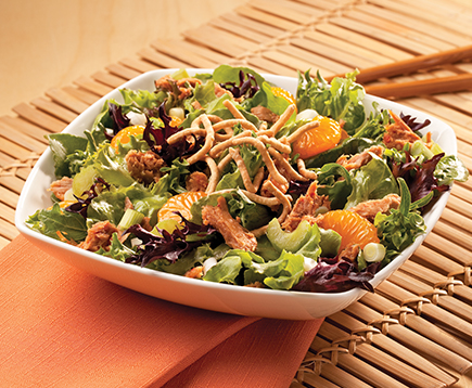 Sweet and Spicy Mandarin Salad