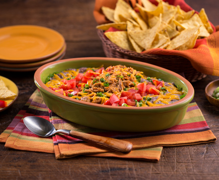 Tapatio Tuna and Black Bean Dip
