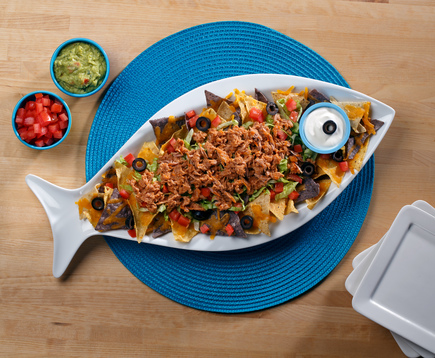 Buffalo Tuna Nachos