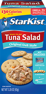 Ready-to-Eat Tuna Salad Kit, Original Deli Style