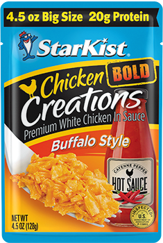 Chicken Creations® BOLD Buffalo Style — 4.5 oz. Big Size pouch