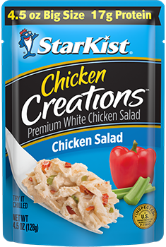 Chicken Creations® Chicken Salad — 4.5 oz. Big Size pouch
