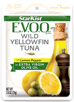 StarKist E.V.O.O.® Wild Yellowfin Tuna with Lemon Pepper