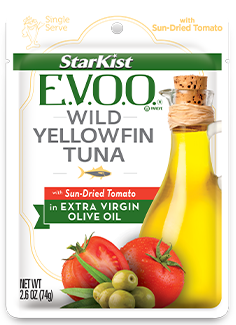 StarKist E.V.O.O.® Wild Yellowfin Tuna with Sun-dried Tomato