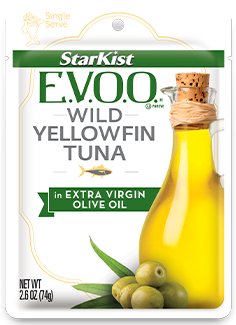 StarKist E.V.O.O.® Wild Yellowfin Tuna