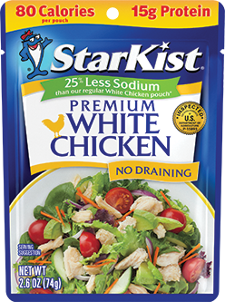 NEW Premium White Chicken 25% Less Sodium