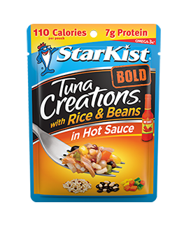NEW Tuna Creations® BOLD with Rice & Beans in Hot Sauce