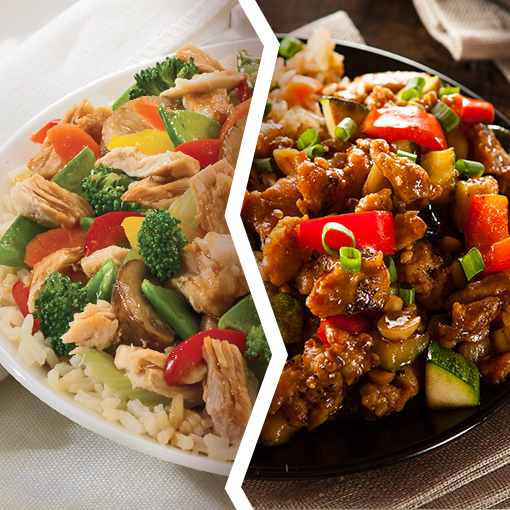 Albacore Stir Fry Vs. Chicken Stir Fry