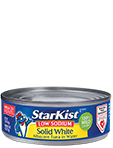 NEW Low Sodium Solid White Albacore Tuna in Water