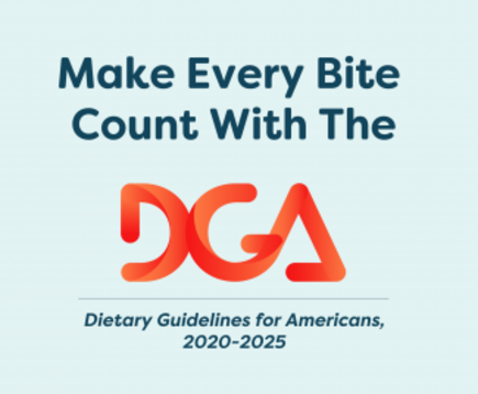 Dietary Guidelines for Americans 2020