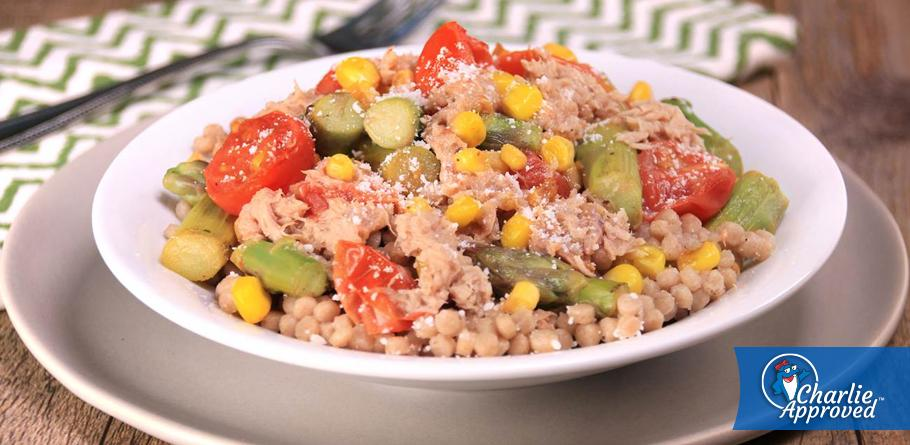 Hungry Girl's Tuna-Veggie Couscous Salad