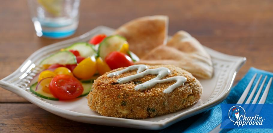 Mediterranean Salmon Patties