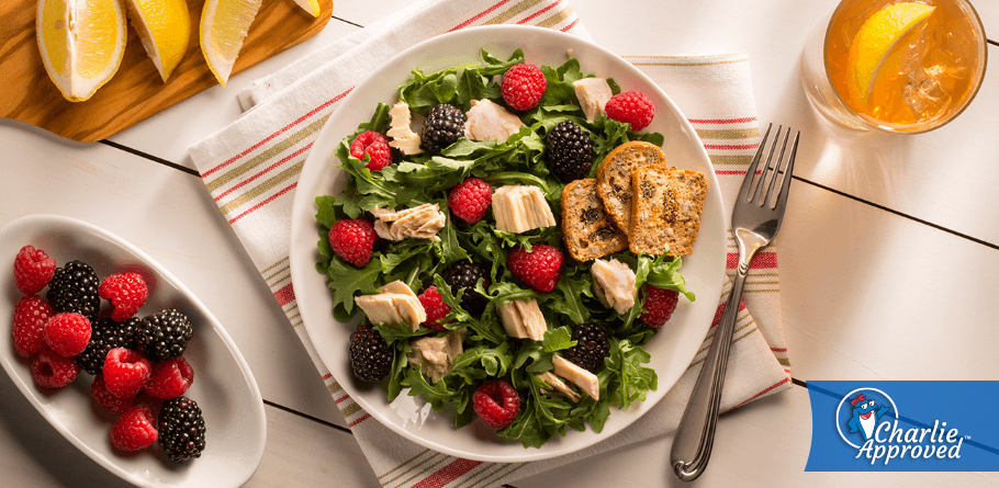 Spring Berry and Albacore Salad