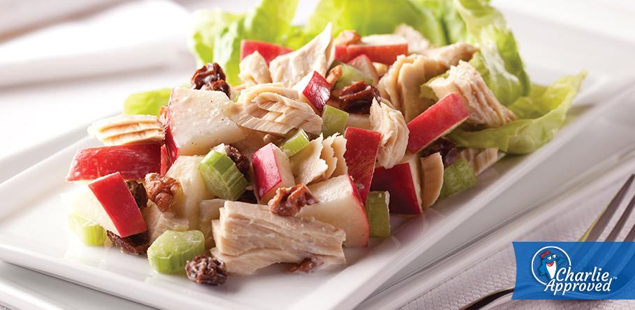 Albacore Waldorf Salad for 2